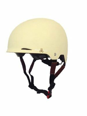 Triple Eight Gotham Matte Helmet, Cream, Small/Medium