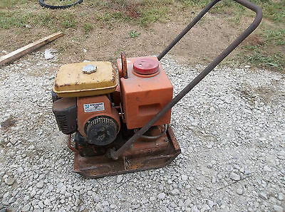 MQ Multi Quip Mikasa Plate compactor with water tank for asphalt