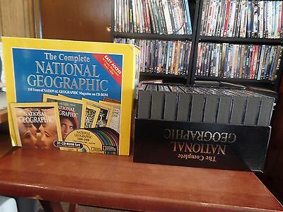 The Complete National Geographic 110 Years On CD-ROM Windows & Mac #1065