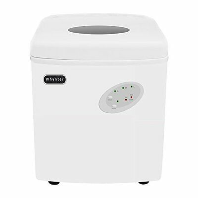 Whynter IMC-330WS Portable Ice Maker with 33-Pound Capacity,