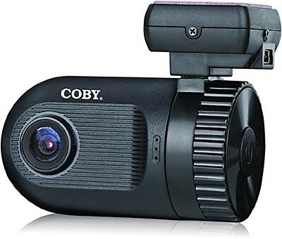 Coby DCHDG-201 4x Zoom 1080p Car Dash Cam and DVR Box (Black