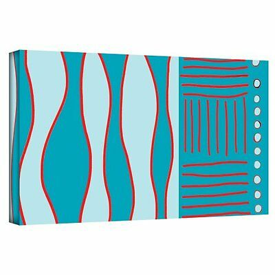 Art Wall Fabric Design II Gallery Wrapped Canvas Art by Jan