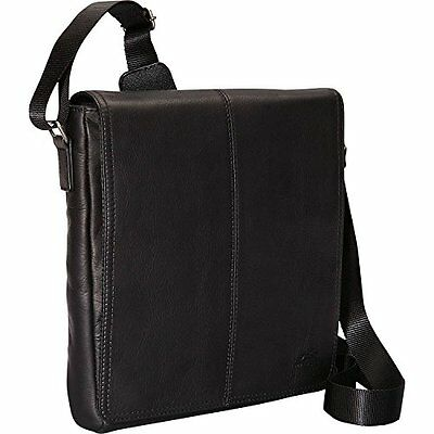 Mancini Leather Goods Messenger Style Unisex Bag for Tablet/