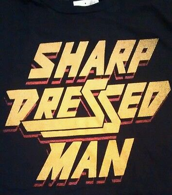 New ZZtop shap dressed Man tshirt black XL