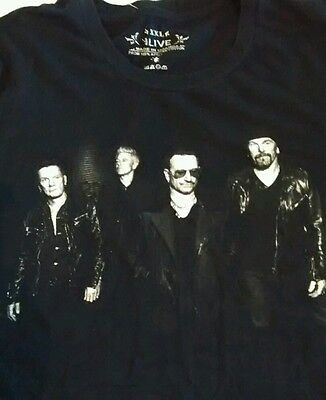 U2 innocence+experience tour t-shirt licensed XXL