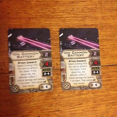 X-wing Miniatures Epic Ion Cannon Batteries