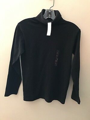 NWT The Children's Place Boys Black Long Sleeve Pullover Sweater Sz L10/12