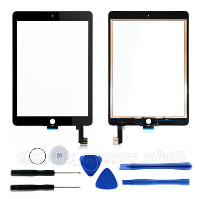 For iPad air 2 / IPad 6 Front Panel Touch Screen Digitizer Replacement + Tools