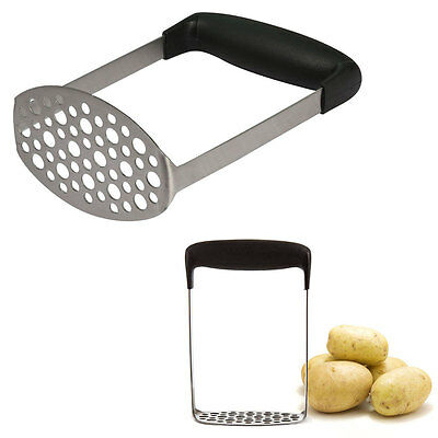 Potato Ricer Home Juicer Pumpkin Fruit Puree Stainless Steel Masher