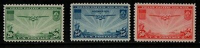 1935 United States Air Stamp(Mnh) S.g.a 775-777