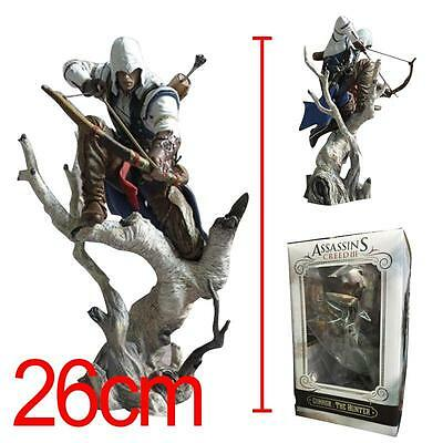 Assassin's Creed III UBISOFT Connor The Hunter Action Figurine NEW WITH BOX