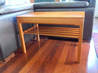 Retro Vintage, genuine PARKER Coffee Table, danish style