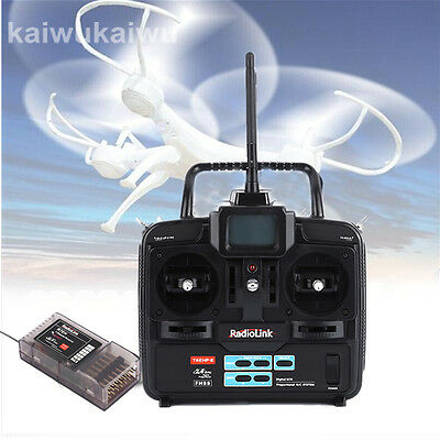 High Quality RadioLink 2.4G Telemetry 6CH RC Controller Transmitter and Receiver