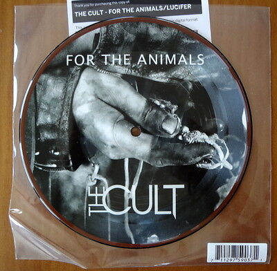 """The Cult For The Animals / Lucifer Picture Vinyl 7"""" Rsd Ian Astbury Billy Duffy"""