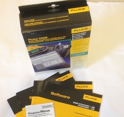 Fluke DMS Professional Installation Software for 1653 17th Edition Tester