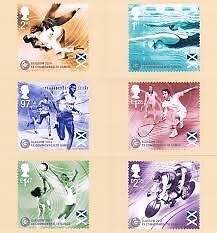 Glasgow Commonwealth Games Phq Cards