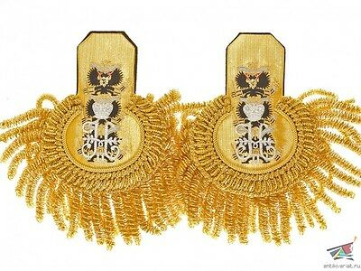 Russian Imperial Guards Equipage ADMIRAL epaulettes, some models, replica