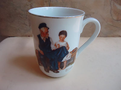 Collectable Norman Rockwell Mug The Lighthouse Keepers Daughter