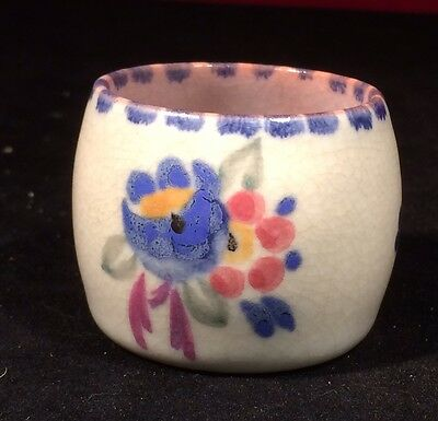 Poole Pottery Egg Cup, 1934-1937, Good Condition Painters Mark