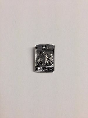 The Lovers RS130 Made from Solid Fine English Pewter Pin Lapel badge