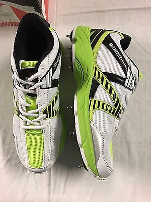 Gray-Nicolls Velocity Green Cricket Spikes Shoes
