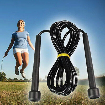 Wire Skipping Adjustable Jump Rope Boxing Fitness Sport Gym Exercise Equipment