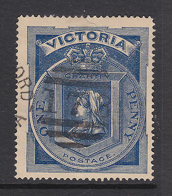 VICTORIA 1d CHARITY STAMP USED WITH ISSUES............