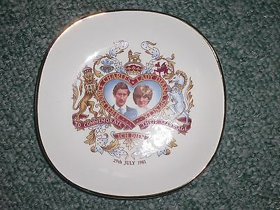 Prince Charles & Lady Diana commemorative wedding plate 29th July 1981