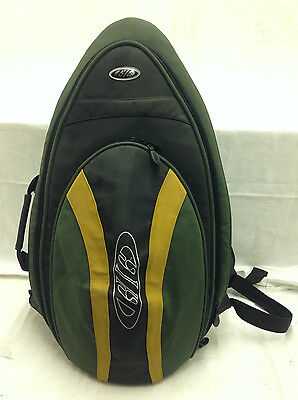 New Gig Padded Alto Saxophone Green Black Yellow Carry Case Bag Instrument