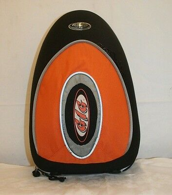 Orange Gig Styrofoam Moulded Clarinet Carry Case Gig Bag