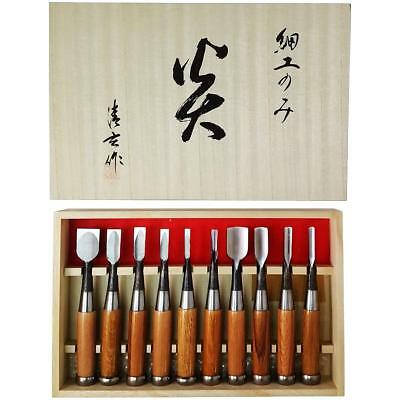 New Japanese Nomi Chisel Carpentry Tool 10set new Blade EMS Free tracking ship