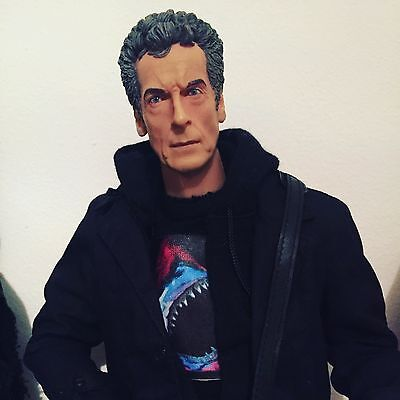 Doctor Who Figure Big Chief Studios 12th Dr Hot Toys Custom 1/6