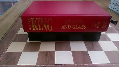 Wizard and Glass SIGNED NUMBERED LIMITED EDITION Stephen King HB Book Slipcased