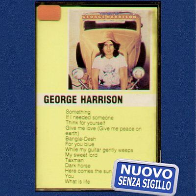 "George Harrison "" The Best "" Musicassetta Nuova (Mc - K7)"