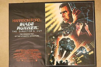 Blade Runner 1992 Directors Cut Original UK Quad Poster Rolled