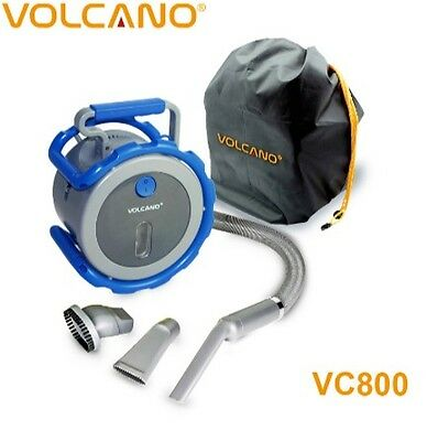 Volcano Auto Flexi Car Vacuum Cleaner 12 Volts And Hoover Vac Colour Dark Blue