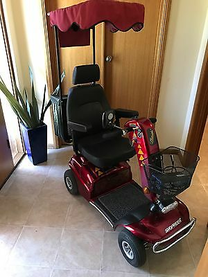 Mobility Scooter/Gopher- Shoprider 4 wheel with Canopy