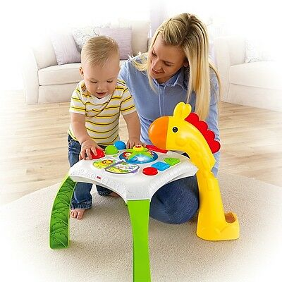 Fisher Price Animal Friends Sights & Sounds Learning Table NEW SEALED FAST D
