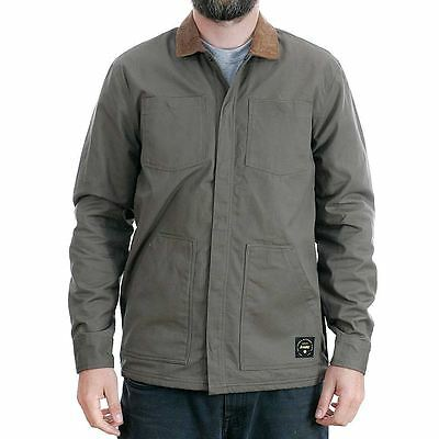 Altamont Reynolds Woven Long Sleeved Workshirt Army Green New Free Delivery