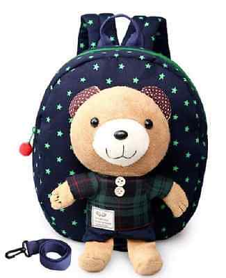 Cartoon Baby Kids Toddler Keeper Walking Safety Harness Strap Backpack Leash Bag