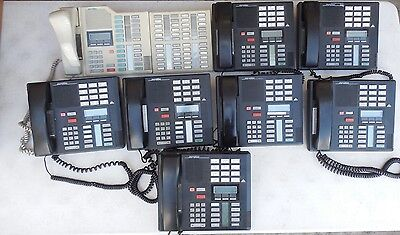 Lot of 8 Northern Telecom NT Meridian Business Phones