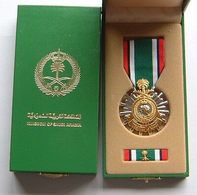 Full Size ORIGINAL Medal for Liberation of Kuwait -SAUDI ARABIA issue in BOX