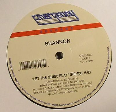 "SHANNON - Let The Music Play - Vinyl (12"")"