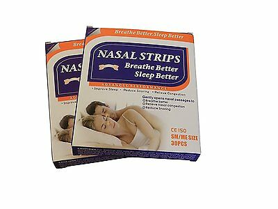 Nasal strip: anti-snoring, relieve congestion and improve sleep  set of 2 x 30