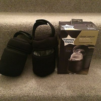 Two tommee tippee insulated bottle bags, In Box