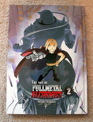 The Art Of Fullmetal Alchemist 2 Hiromu Arakawa Hardcover English FMA Art Book