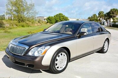 2004 Maybach  2004 MAYBACH 57 - ONLY 18,000 ORIGINAL MILES - 1 OF A KIND -IMPECCABLE CONDITION