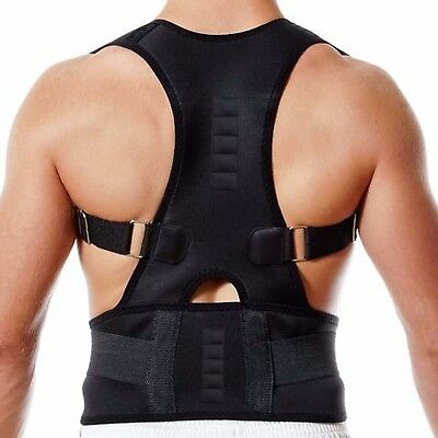 Medipaq® Magnetic Posture Support Brace - Adjustable Back Lumbar Corrector Belt