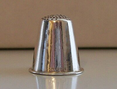 Nice 925 Sterling Silver Thimble (Cyprus Assay Mark)