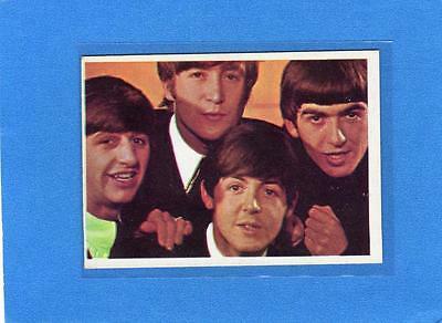 The Beatles US Original Topps 1960's Color Cards Bubble Gum Card # 53